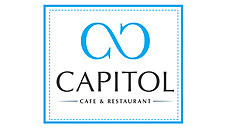 Capitol cafe and restaurant logo